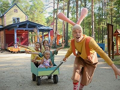 Have Fun at the Lottemaa Theme Park