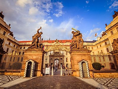 Prague Castle Private Tour with Interiors