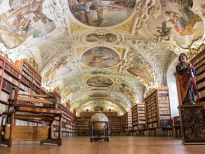 Strahov Library and Brewery Private Tour