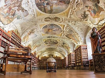 Strahov Library and New World Private Tour