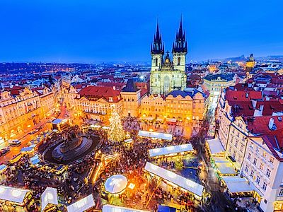 Warm and Stuff Your Belly at Prague's Christmas Markets