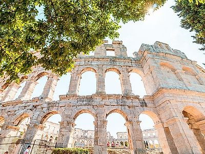 Pula Roman Heritage Private Walking Tour