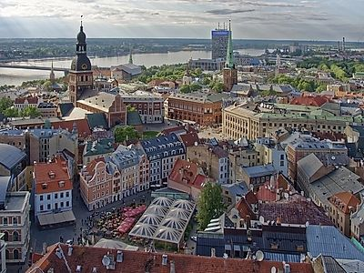 Riga From On High