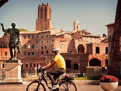 Rome City Center Highlights E-Bike Group Tour
