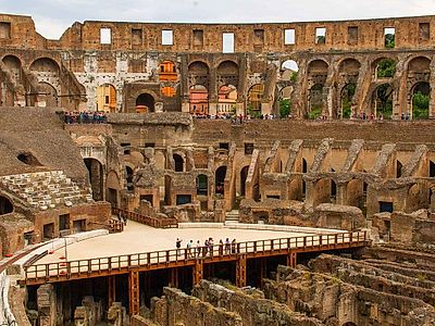 VIP Colosseum Underground, Roman Forum & Palatine Hill Group Tour