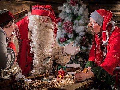 Visit Santa's Cavern