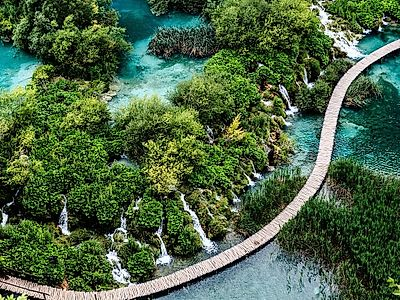 Zagreb by Private Transfer with a Stop at Plitvice Lakes
