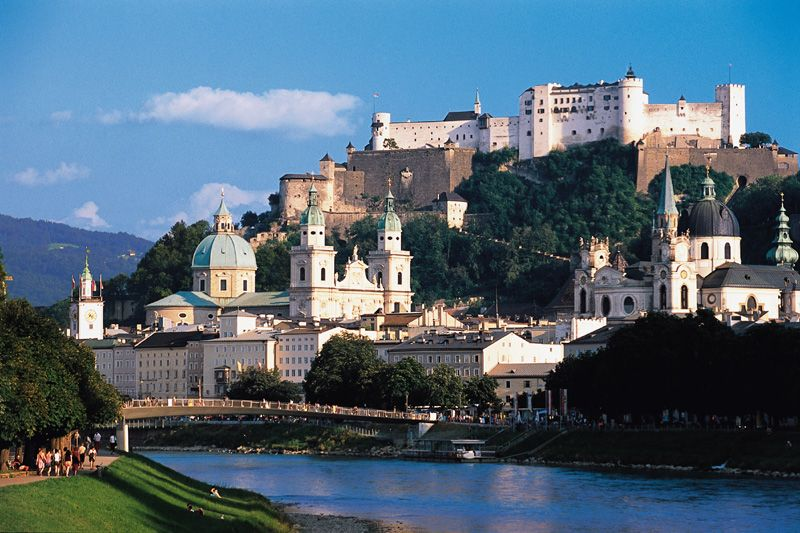 Classical Salzburg City Group Tour