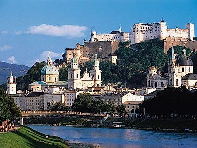 Panorama Salzburg City Group Tour