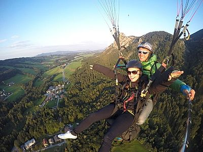 Salzburg Tandem Paragliding Excursion
