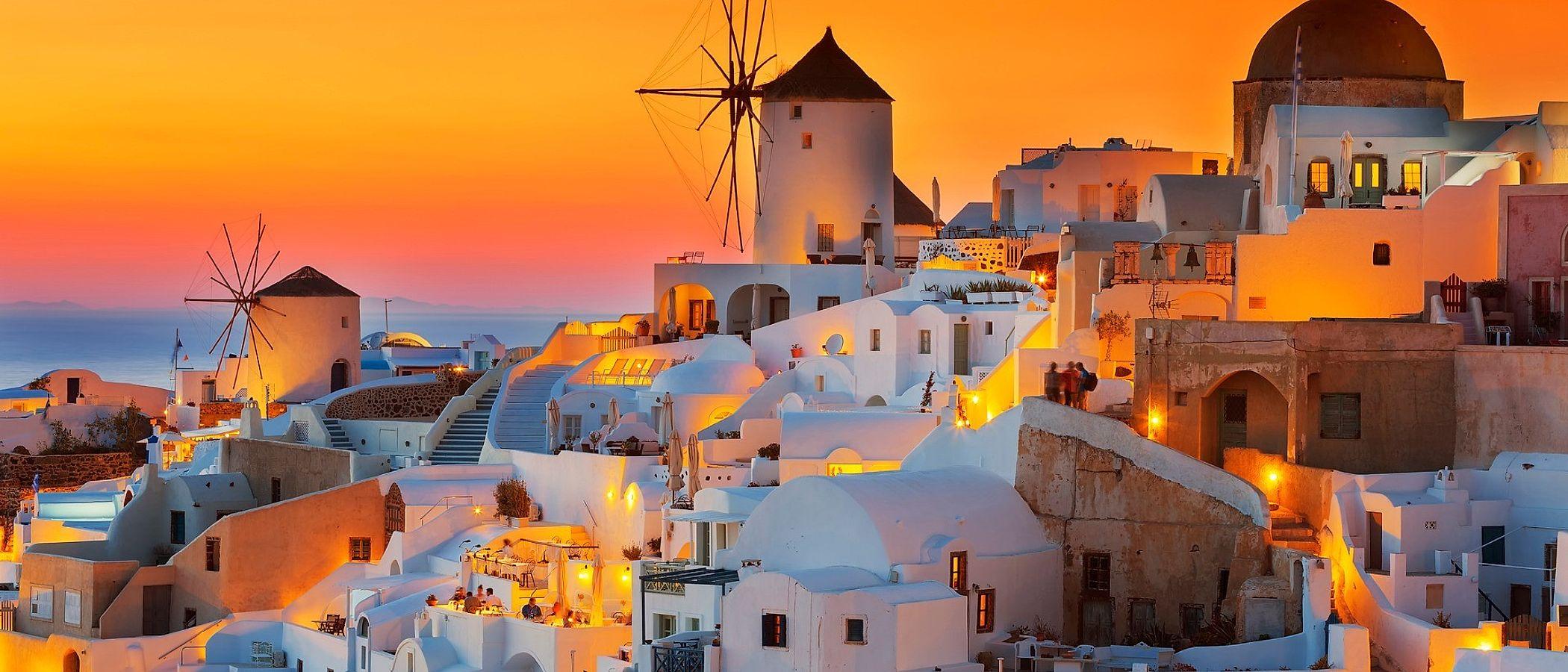 Santorini travel packages