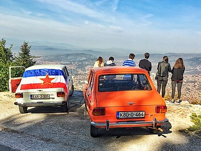 Yugoslav Classic Car Private Tour in Sarajevo