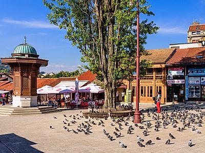 Baščaršija, the City's Heart