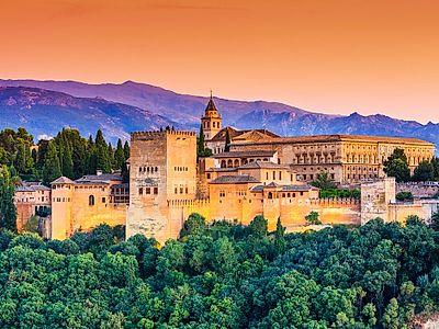 Granada by Private Transfer