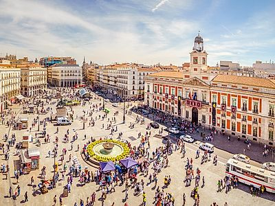 Upgrade to Madrid by Private Transfer with a stop in Cordoba