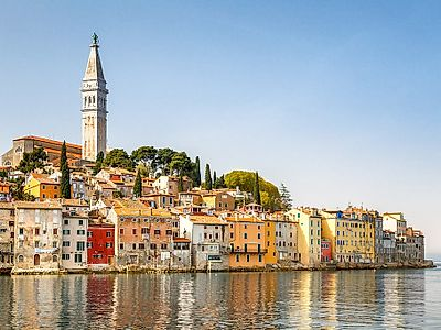 Rovinj by Private Transfer with a Stop in Smiljan