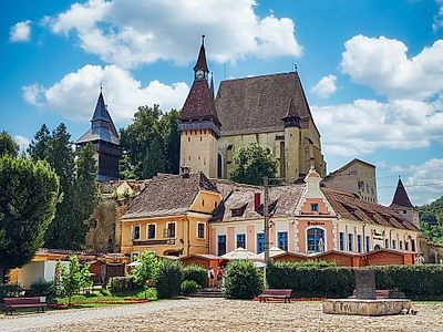Sibiu by Private Transfer with a Stop in Biertan