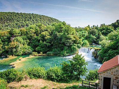 Krka Waterfalls and Sibenik Group Tour