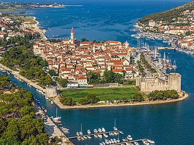 Krka Waterfalls and Trogir Group Tour