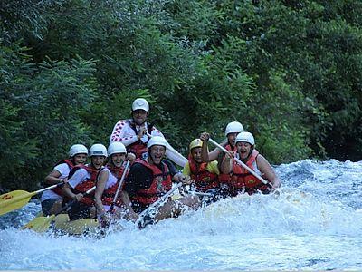 Rafting Cetina River Group Tour