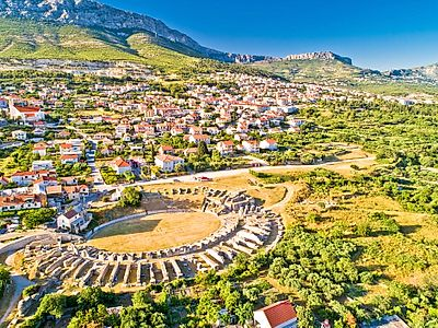 Split and Salona Roman Heritage Private Tour