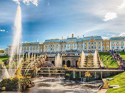 Pushkin, Lomonosov & Peterhof Private Tour
