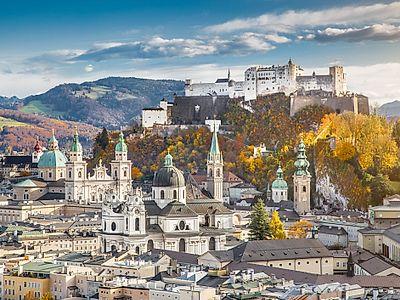 Salzburg Private Walking Tour by Train