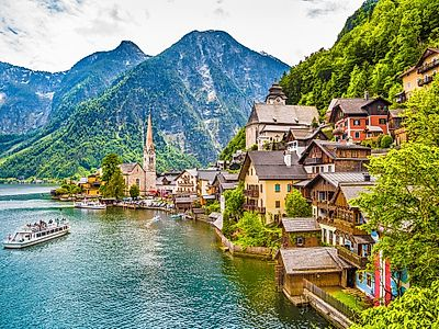 Salzburg by Private Transfer with a Stop in Hallstatt