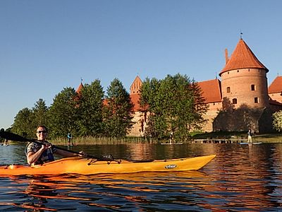 Trakai Private Kayak Tour