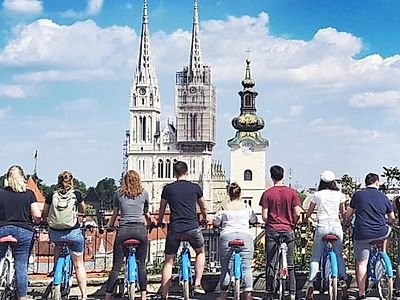 Zagreb Highlights Small Group Biking Tour